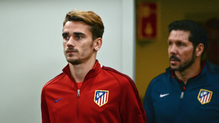 Lacazette's France team-mate Antoine Griezmann has starred for Atletico this season