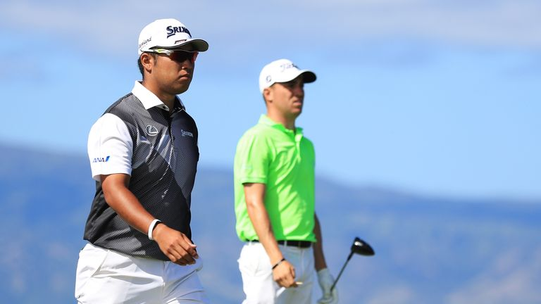 Matsuyama and Thomas were paired together for the final round