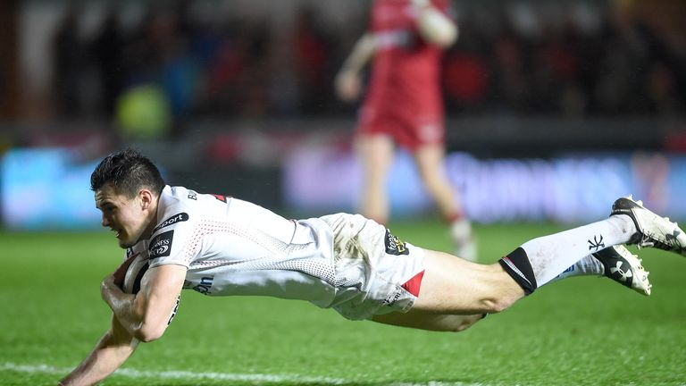 Ulster's Jacob Stockdale is one of eight uncapped players included in the squad