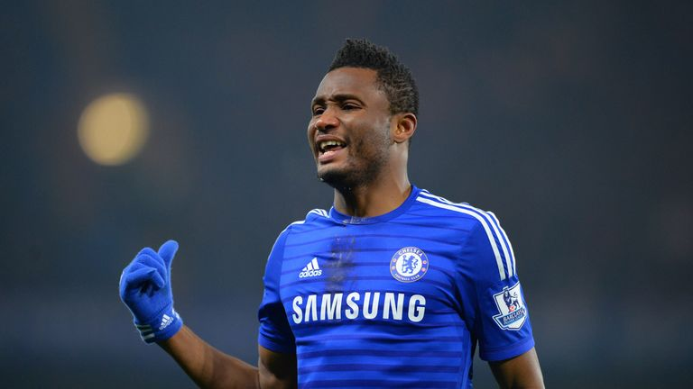 John Obi Mikel is another player now plying his trade in China after leaving Chelsea