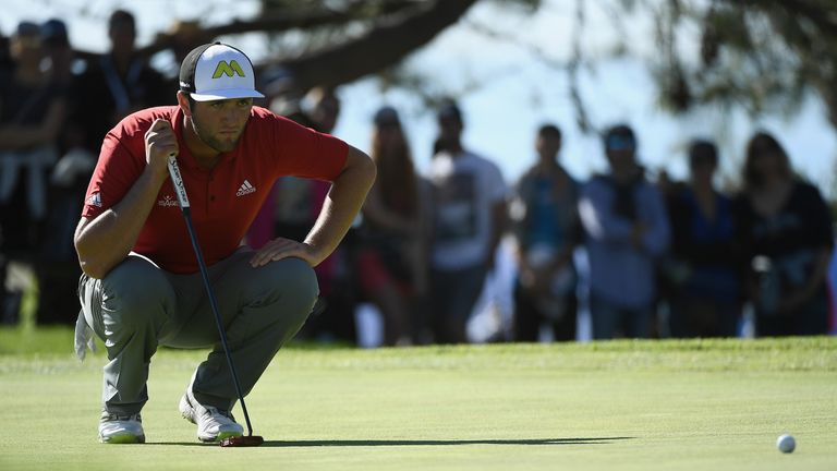Rahm eagled the 13th and the 18th as he stormed to his maiden title