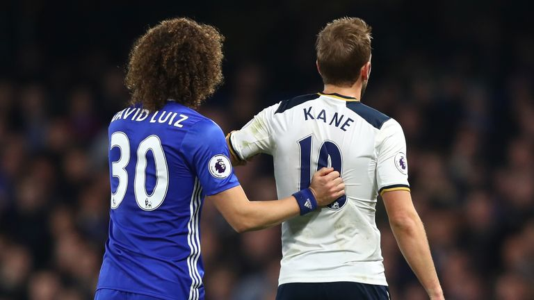 David Luiz says Tottenham are the 'best physical team in the Premier League'