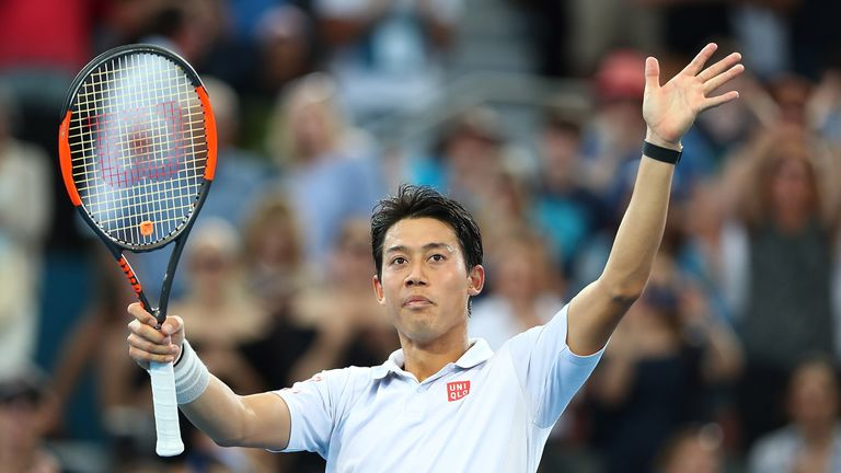 Kei Niskikori will face Grigor Dimitrov in Sunday's final