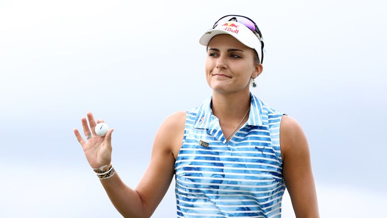 Thompson missed out on the opening women's major of the year in a play-off