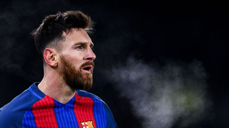 Lionel Messi is under contract with Barcelona until 2018