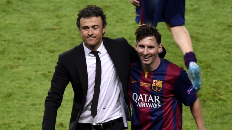 Lionel Messi played no part in Luis Enrique's depature, says Balague