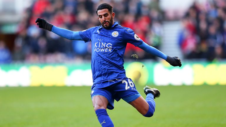 Riyad Mahrez has been named African Footballer of the Year