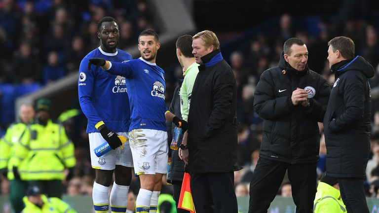 The Everton players are hoping Koeman is not lured away from Goodison