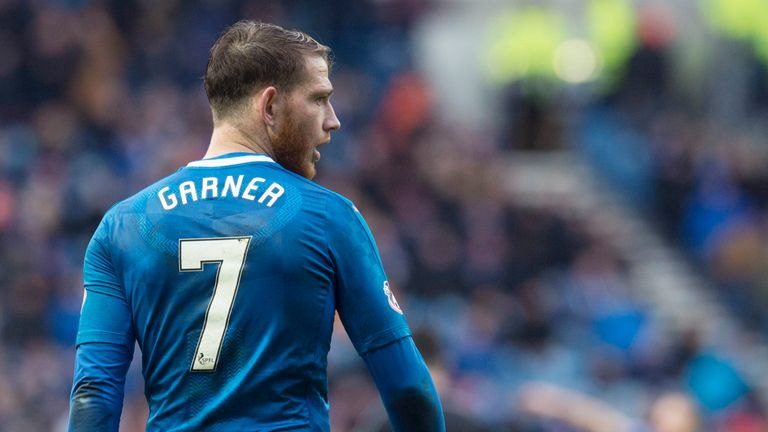 Rangers striker Joe Garner is set to return from suspension
