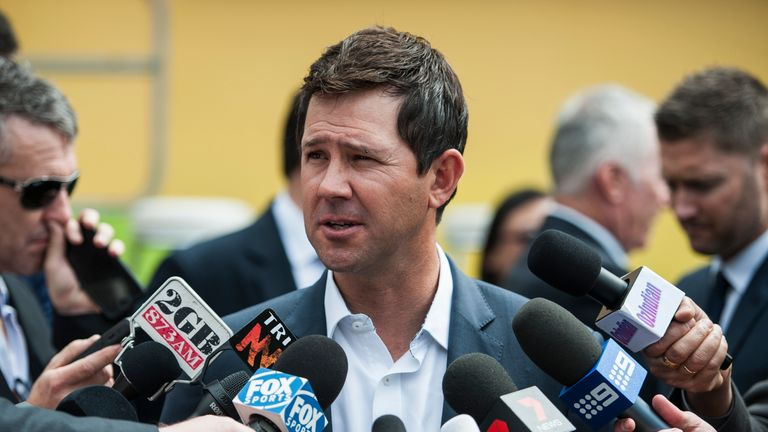 Ricky Ponting will be part of Australia's coaching staff against Sri Lanka