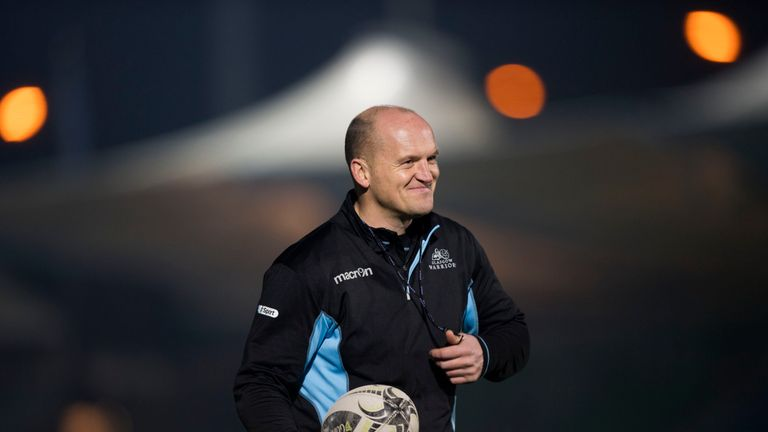 Glasgow Warriors head coach Gregor Townsend