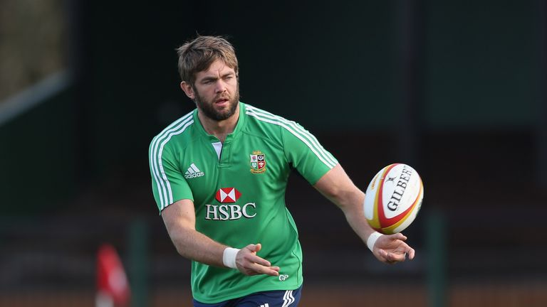 Parling has 42 caps for England and was a key member of the 2013 victorious British and Irish Lions tour to Australia