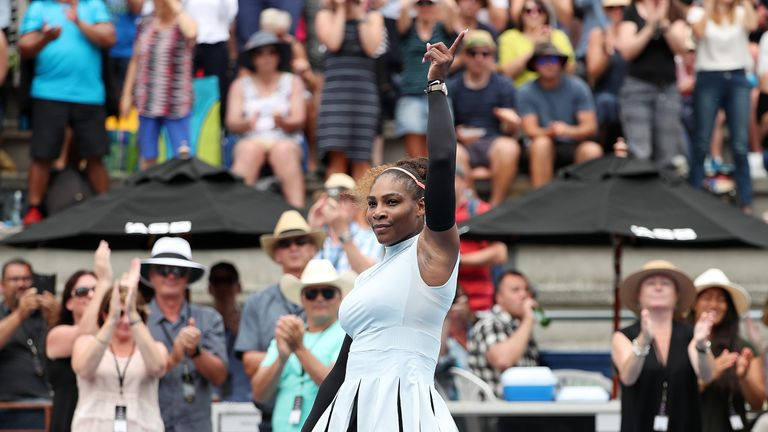 Venus Williams out of Auckland tournament