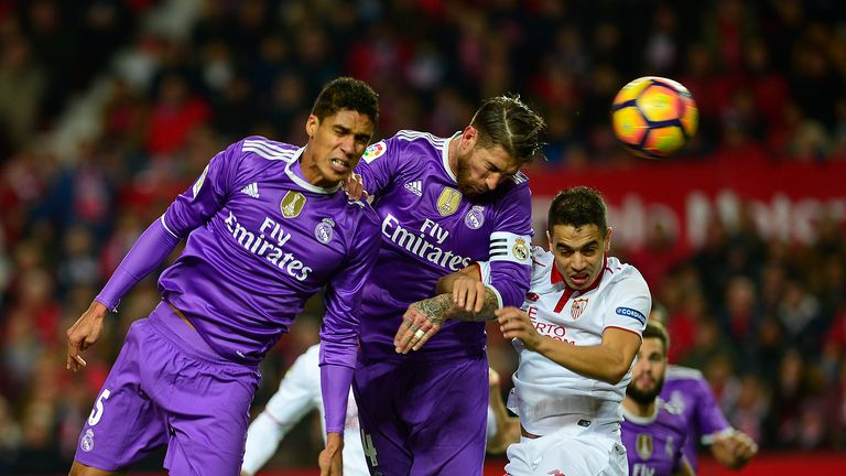 Real's unbeaten run ends at Sevilla