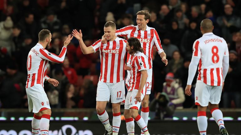 Shawcross has made over 350 appearances during his nine years at Stoke