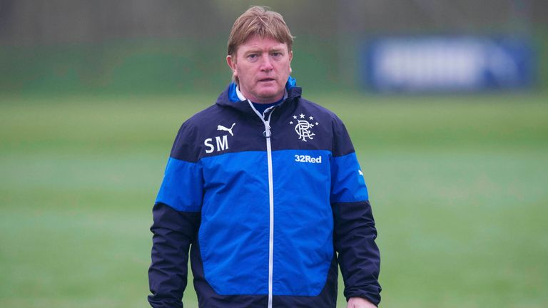 McCall had a brief spell in charge at Rangers in 2015