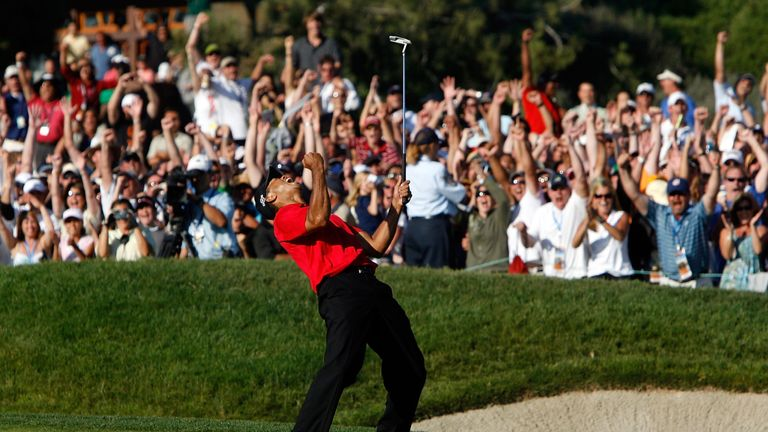 Tiger Woods was the last player to win the US Open in a Monday play-off