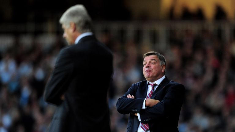 Allardyce admits he loved beating Arsenal when he was with Bolton, something he did on three occasions
