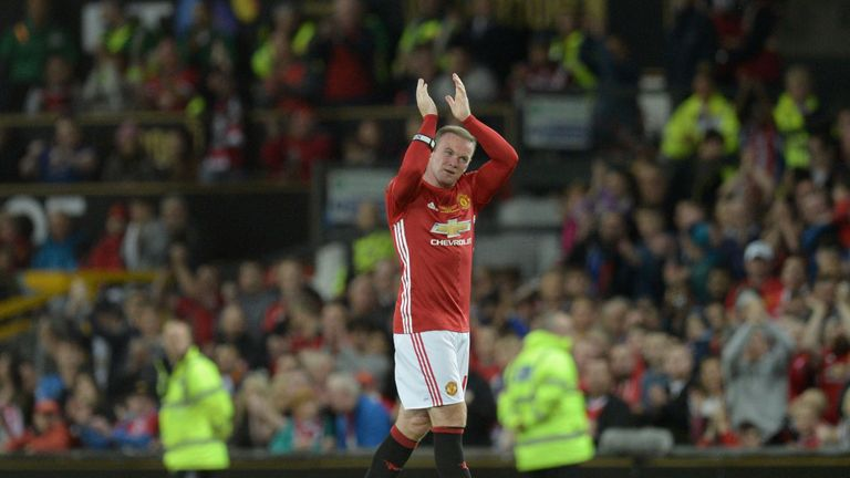 Wayne Rooney becomes Manchester United's all-time leading scorer