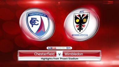 Chesterfield 0-0 AFC Wimbledon