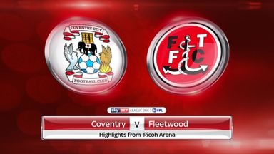 Coventry 0-1 Fleetwood