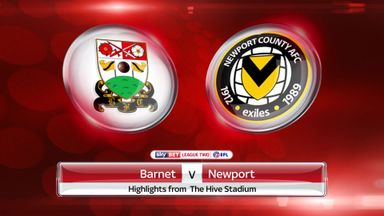 Barnet 0-0 Newport