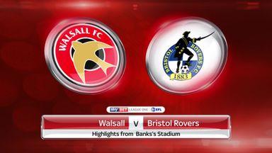 Walsall 3-1 Bristol Rovers
