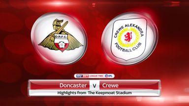 Doncaster 3-1 Crewe