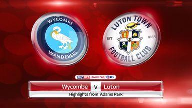 Wycombe 1-1 Luton