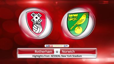 Rotherham 2-1 Norwich