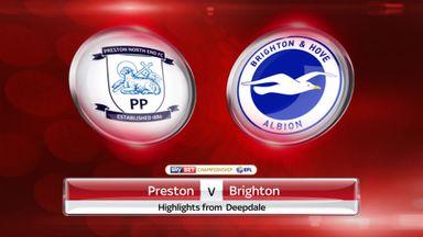 Preston 2-0 Brighton