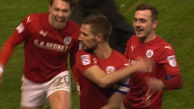 Conor Hourihane netted Barnsley's third from a free kick