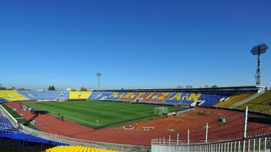 FK Partizan Stadium in Belgrade