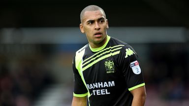 James Vaughan scored four goals for Bury on Saturday
