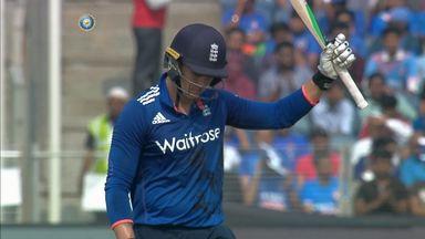 Jason Roy has struck consecutive fifties in India