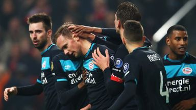 PSV beat Excelsior 2-0 to move level with Ajax in second