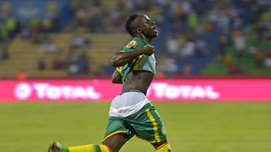 Sadio Mane scored for Senegal in their Group B match on Thursday