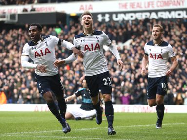 Tottenham are in irrisistable form at the moment