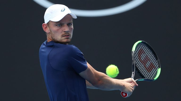 David Goffin dropped just seven games in his straight sets win over Radek Stepanek