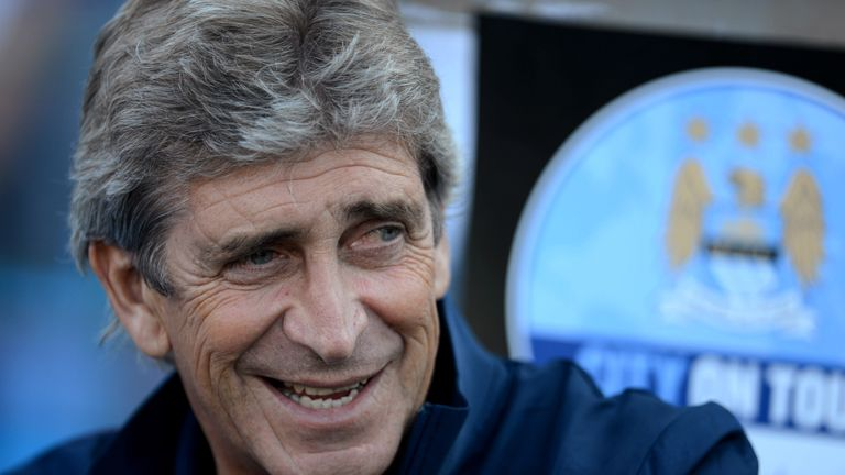 PRETORIA, SOUTH AFRICA - JULY 14: Manchester City manager, Manuel Pellegrini during the Nelson Mandela Football Invitational match between SuperSport Unite