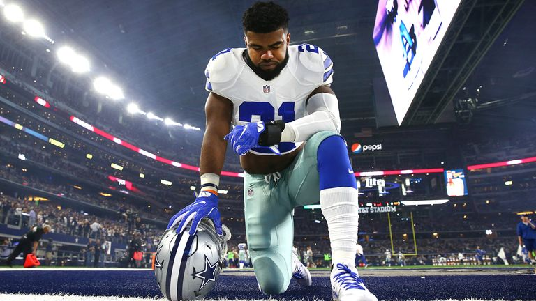 Cowboys' Ezekiel Elliott Knocked Out Man at Dallas Bar, Witnesses Say