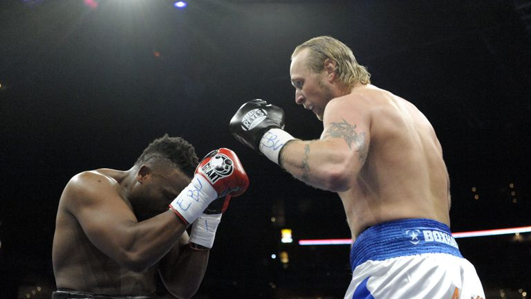 Helenius beat Chisora on a split decision in 2011