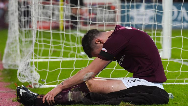 Jamie Walker hasn't managed to score in his last five appearances and missed a penalty in Hearts' 1-1 draw with Inverness CT in February