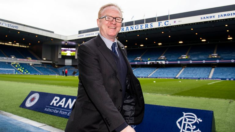 Alex McLeish says a return to Rangers as manager was never really on the cards