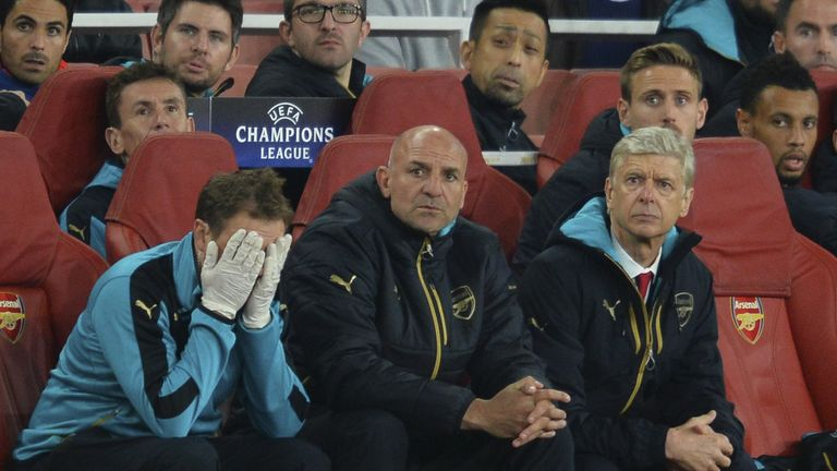 Steve Bould is currently Wenger's assistant at Arsenal