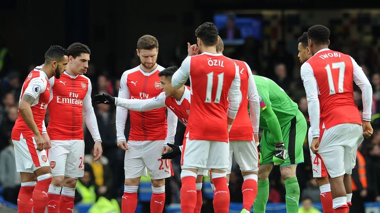 Sol Campbell tells Sky Sports Arsenal lack leaders on the