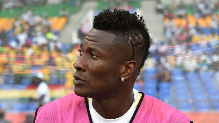 Asamoah Gyan has 'unethical hair' according to UAE FA rules
