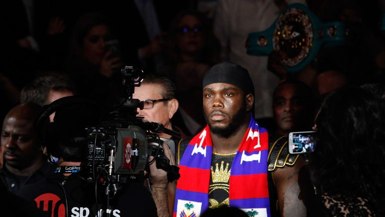 Stiverne, from Haiti, has only had one fight, a unanimous points victory, since losing to Wilder