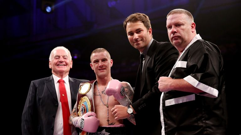 Ricky Burns' promoter Eddie Hearn has said the fight '50-50' and 'massive for Scotland'