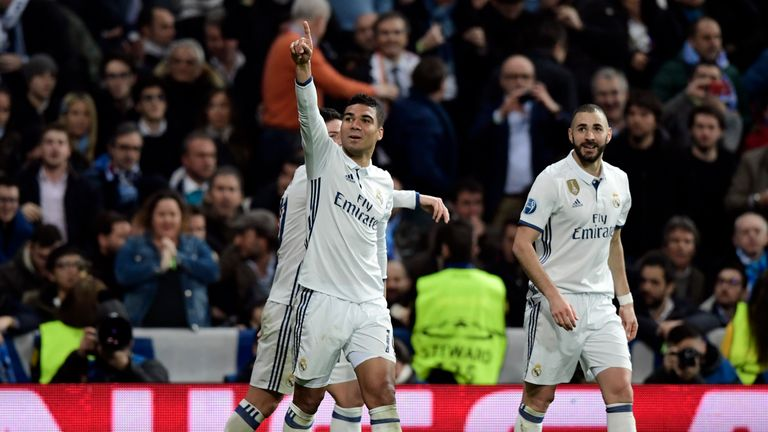 Casemiro is becoming a folk hero at Real Madrid, says Balague